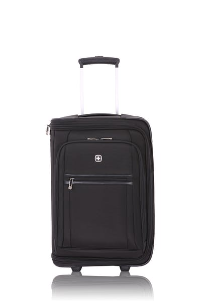 "Swissgear 6590 20"" Geneva Garment Upright Carry On Wheeled Luggage - Black"
