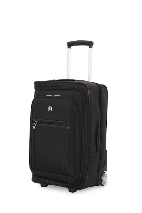"SwissGear 6590 Geneva 20"" Carry On Luggage w/ Garment Front-zippered pockets"