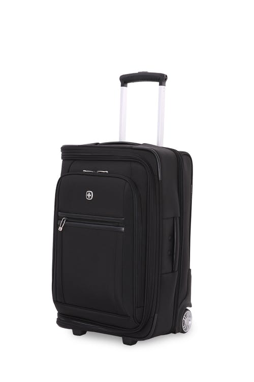 "Swissgear 6590 Geneva 20"" Carry On Garment Upright Luggage - Black"