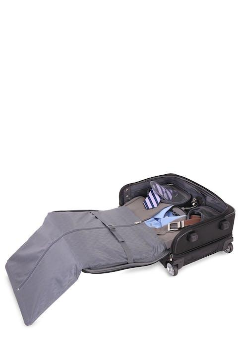 """SwissGear 6590 Geneva 20"""" Carry On Luggage w/ Garment tri-fold garment bag"""