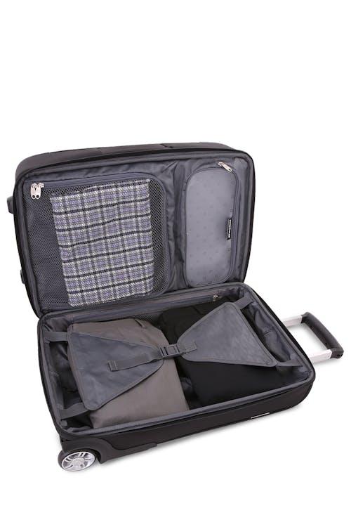 "SWISSGEAR 6590 Geneva 20"" Carry On Garment Upright Luggage Built-in internal wet bag"