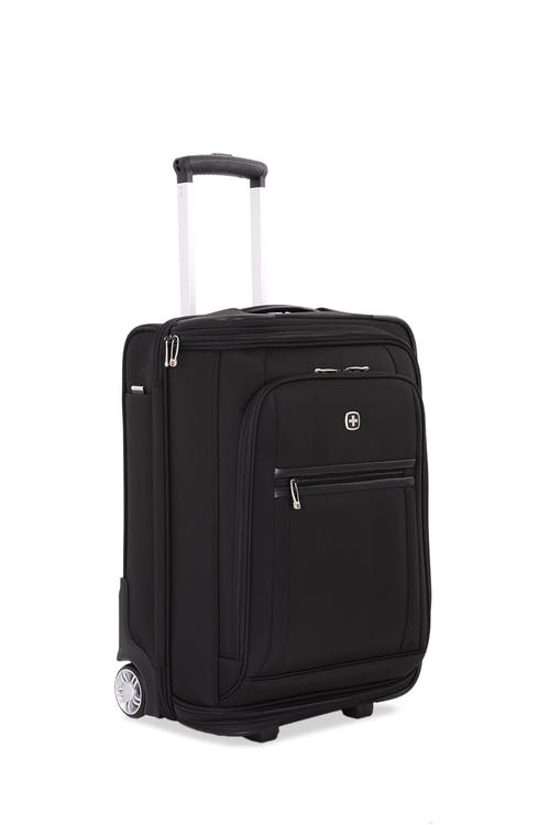 "Swissgear 6590 Geneva 20"" Carry On Garment Upright Luggage in Black"