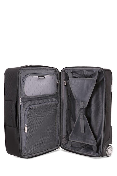 "SwissGear 6590 Geneva 20"" Carry On Luggage w/ Garment Mini-organizer pouches"