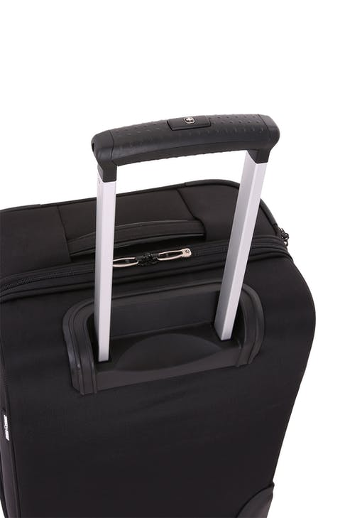 "SwissGear 6590 Geneva 20"" Carry On Luggage w/ Garment Aluminum push button locking telescopic handle"