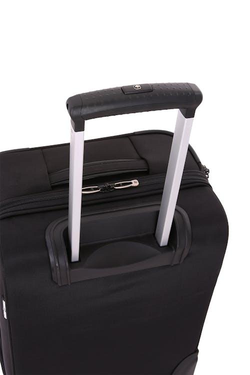 "SWISSGEAR 6590 Geneva 20"" Carry On Garment Upright Luggage Aluminum push button locking telescopic handle"