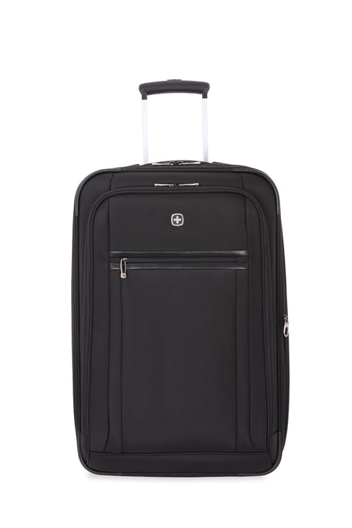 "Swissgear 6590 Geneva 23"" Expandable Wheeled Luggage Front-zippered compartments"
