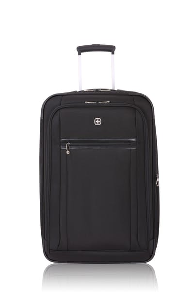 "SWISSGEAR 6590 Geneva 23"" Expandable Wheeled Luggage - Black"