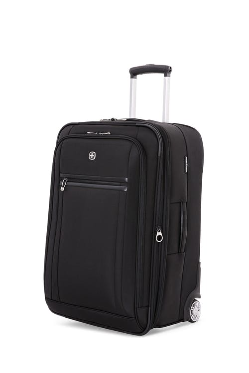 "Swissgear 6590 23"" Geneva Expandable Wheeled Luggage - Black"