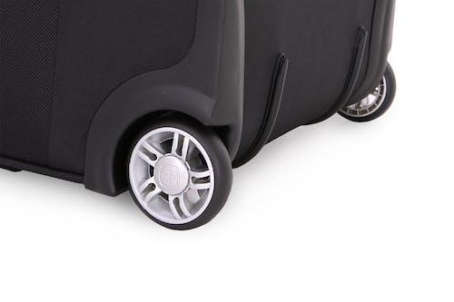 "Swissgear 6590 Geneva 23"" Expandable Wheeled Luggage Long-lasting dual wheels"