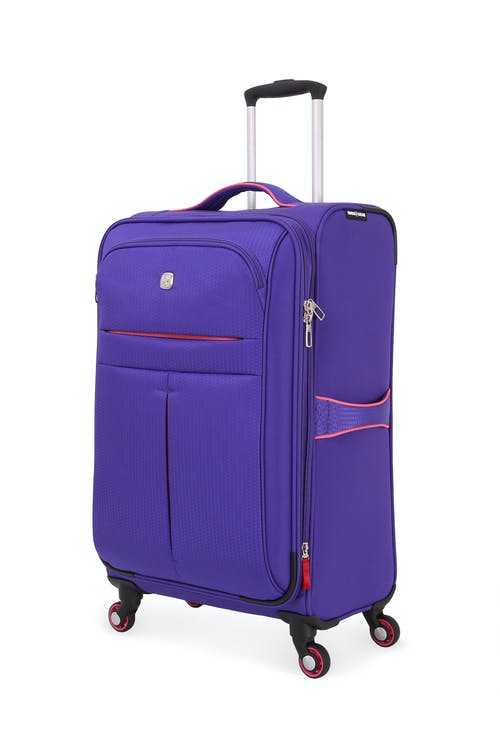 "Swissgear 6593 23"" Expandable Liteweight Spinner Luggage"