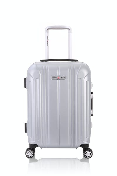 "Swissgear 6595 18"" Aluminum Frame Carry On Hardside Spinner Luggage"