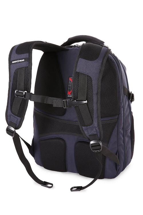 SWISSGEAR 6752 SCANSMART LAPTOP BACKPACK PADDED, AIRFLOW BACK PANEL