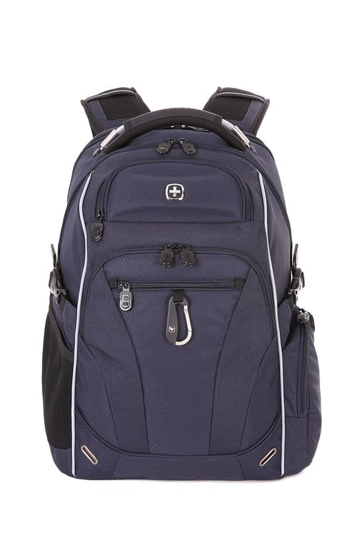 SWISSGEAR 6752 SCANSMART LAPTOP BACKPACK WIRE REINFORCED, PADDED TOP HANDLE