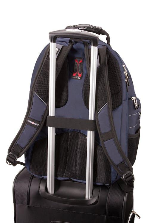 SWISSGEAR 6939 ScanSmart Backpack - Add-a-bag sleeve