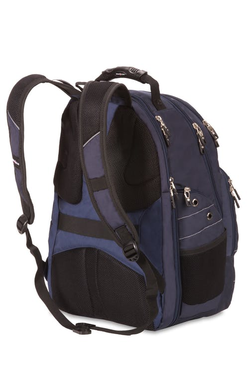 Swissgear 6939 ScanSmart Backpack - Ergonomically contoured, padded shoulder straps