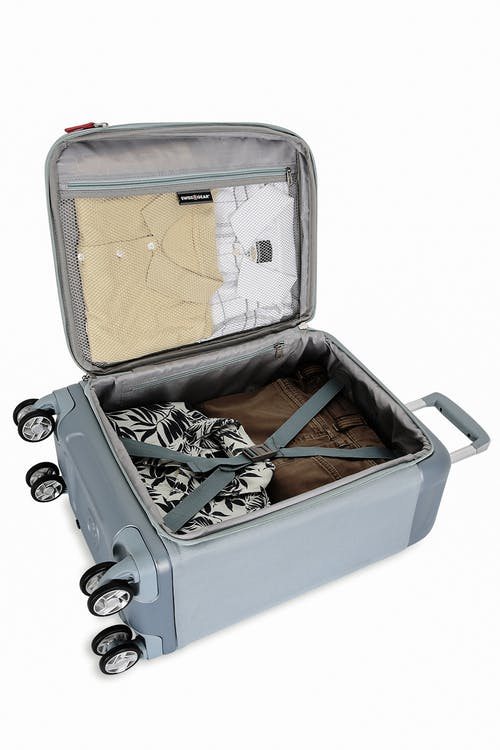 "Swissgear 7207 New Tensilite 19"" Expandable Luggage Internal organizational pocket"