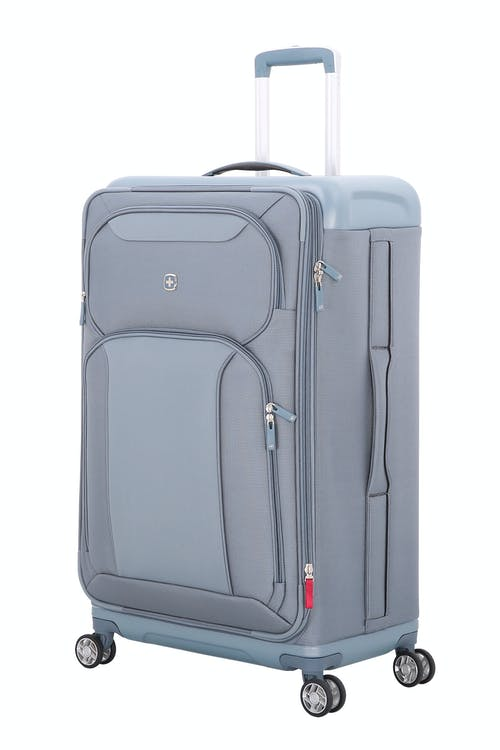"Swissgear 7207 New Tensilite 29"" Expandable Luggage  - Silver/Blue"