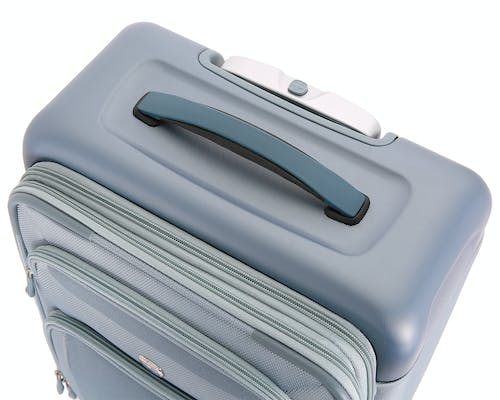 """Swissgear 7207 New Tensilite 19"""" Expandable Luggage Rubber padded grab handle"""