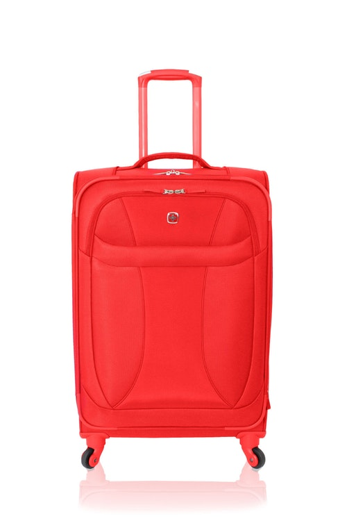 """SWISSGEAR 24"""" EXPANDABLE LITEWEIGHT SPINNER LUGGAGE"""