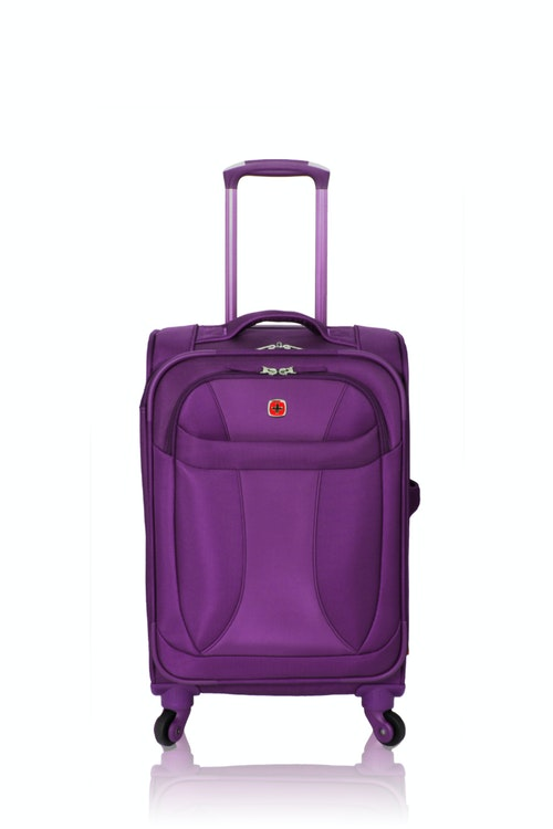 "SWISSGEAR 20"" LITEWEIGHT CARRY-ON SPINNER LUGGAGE"