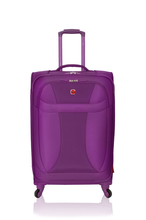 "SWISSGEAR 24"" LITEWEIGHT SPINNER LUGGAGE"