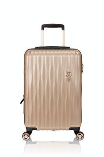 "Swissgear 7272 19"" USB Energie Expandable Carry On Hardside Spinner Luggage"