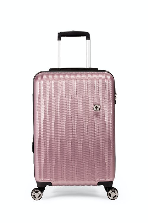 """Swissgear 7272 19"""" USB Energie Expandable Hardside Carry On Spinner Luggage Top molded grab handle"""