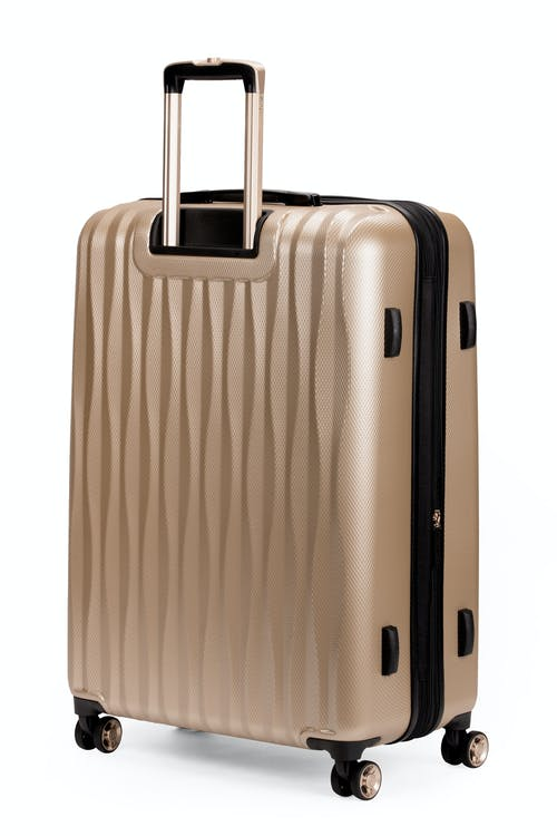 """Swissgear 7272 27"""" Energie Hardside Luggage Expands for additional packing space"""