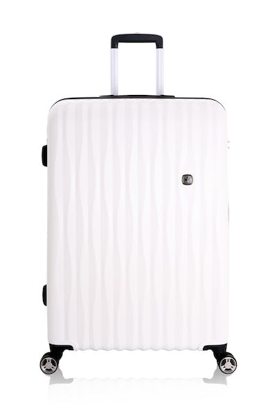 "Swissgear 7272 28"" Energie Hardside Luggage - White"