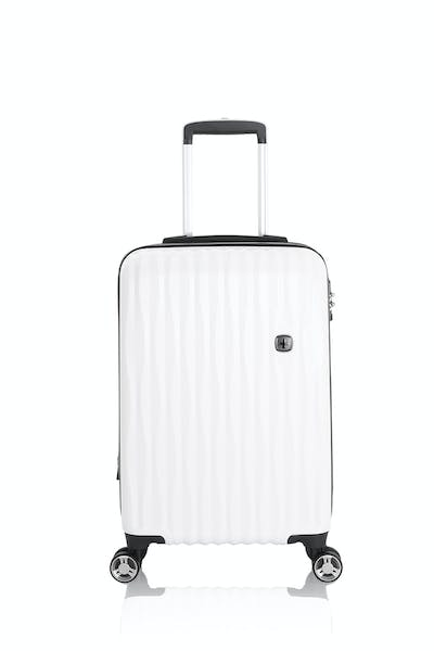 "Swissgear 7272 19"" Energie Hardside Luggage w/USB - White"