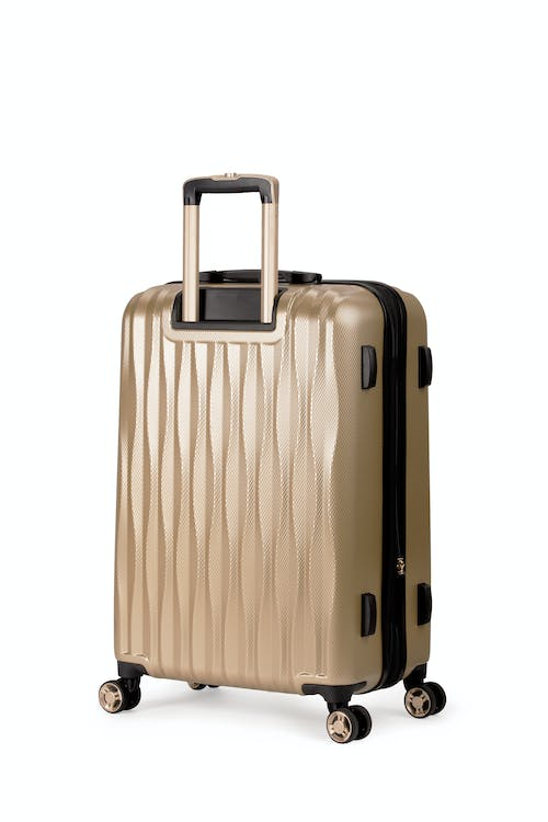 "Swissgear 7272 24"" Energie Expandable Hardside Spinner Luggage rugged ABS hardshell case"