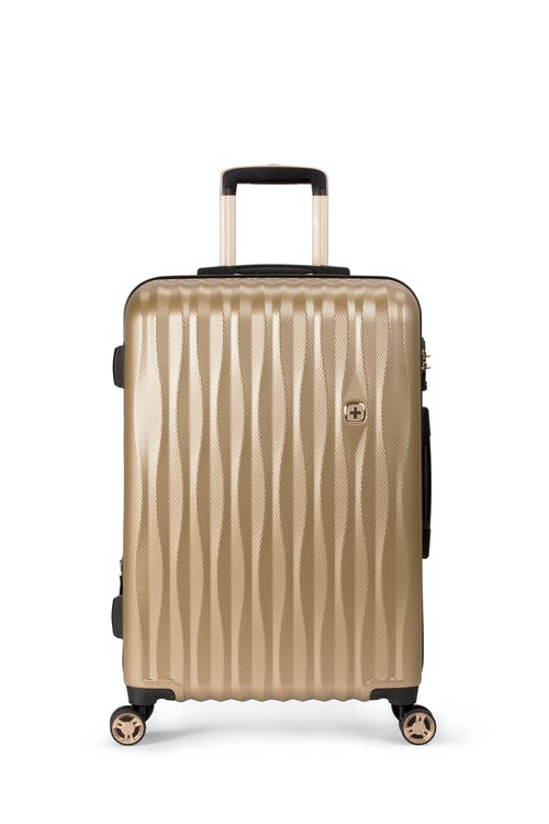 "Swissgear 7272 24"" Energie Expandable Hardside Spinner Luggage Top molded grab handle"