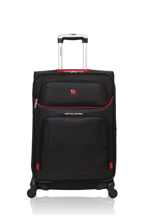 "SWISSGEAR 7317 24"" EXPANDABLE CARRY-ON SPINNER LUGGAGE"