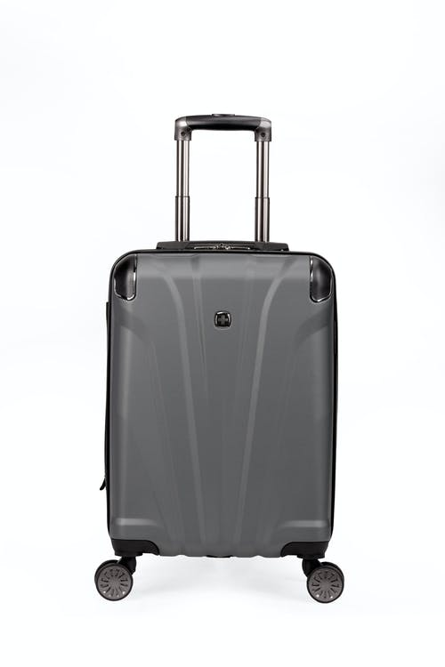 """Swissgear 7330 19"""" Expandable Hardside Spinner Luggage soft rubber hand grips"""