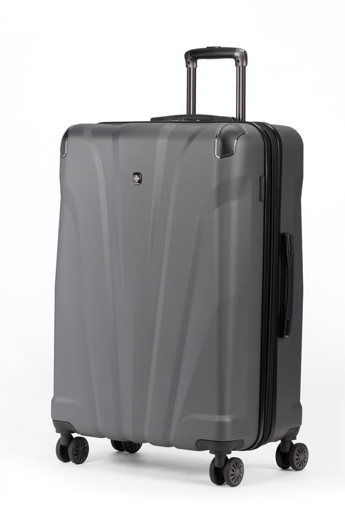 "Swissgear 7330 26"" Expandable Hardside Spinner Luggage - Slate Cement"