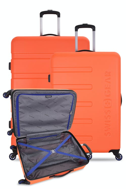 "Swissgear 7366 Luggage Set contains the 18"", 23"" and 27"" Expandable Hardside Luggage"