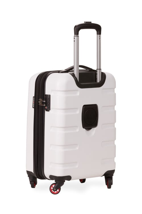 "Swissgear 7366 18"" Expandable Hardside Luggage - Four 360-degree wheels"