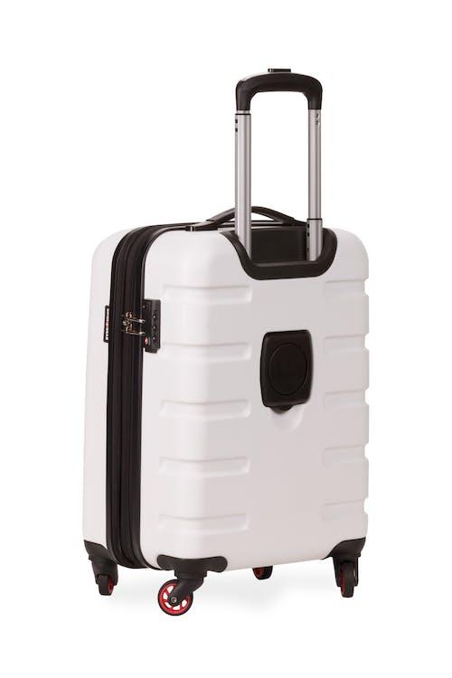 "SWISSGEAR 7366 18"" Expandable Hardside Luggage - Four 360-degree wheels"