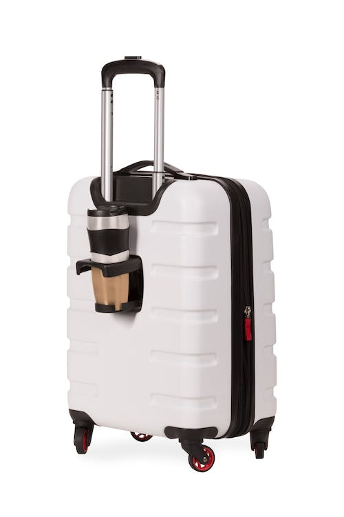 "SWISSGEAR 7366 18"" Expandable Hardside Luggage - Exterior cupholder"