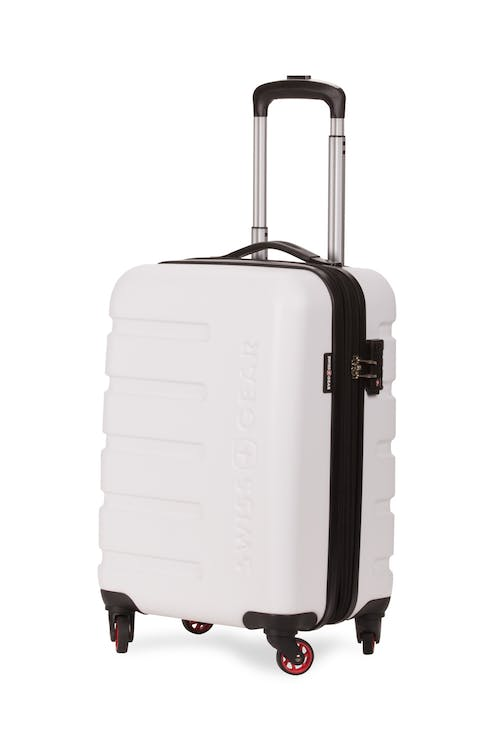 "Swissgear 7366 18"" Expandable Carry On Hardside Spinner Luggage"