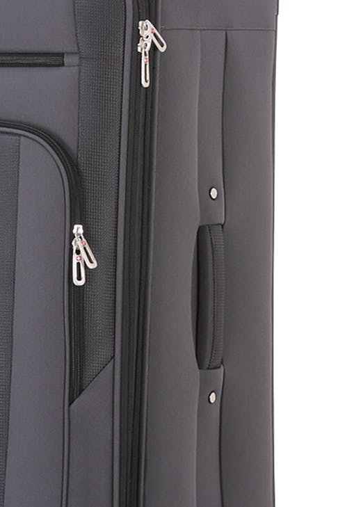 SWISSGEAR 7621 Expandable Spinner Luggage Expands for additional interior space
