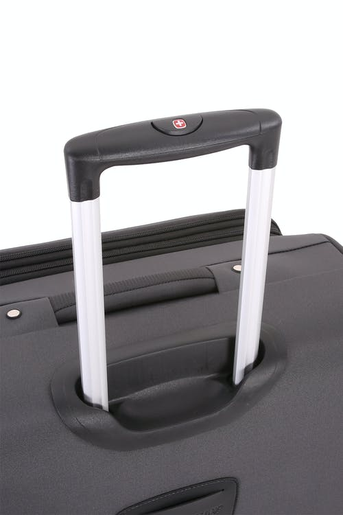 Swissgear 7621 Expandable Spinner Luggage Premium, telescopic aluminum locking handle
