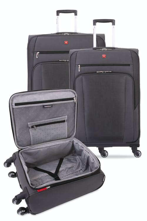 """Set contains the 19"""", 25"""" and 29"""" Expandable Spinner Luggage"""