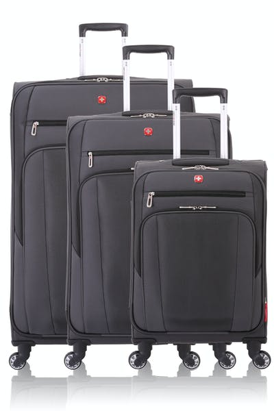 SWISSGEAR 7621 Expandable Spinner Luggage 3pc Set