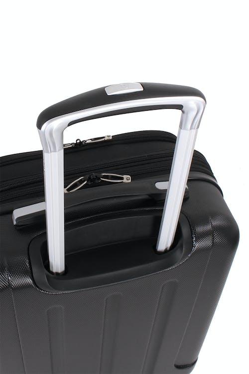 "SWISSGEAR 7635 19"" Expandable Hybrid Business Spinner lightweight aluminum locking handle"