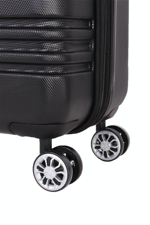 """SWISSGEAR 7635 19"""" Expandable Hybrid Business Spinner Eight 360 degree, multi-directional spinner wheels"""