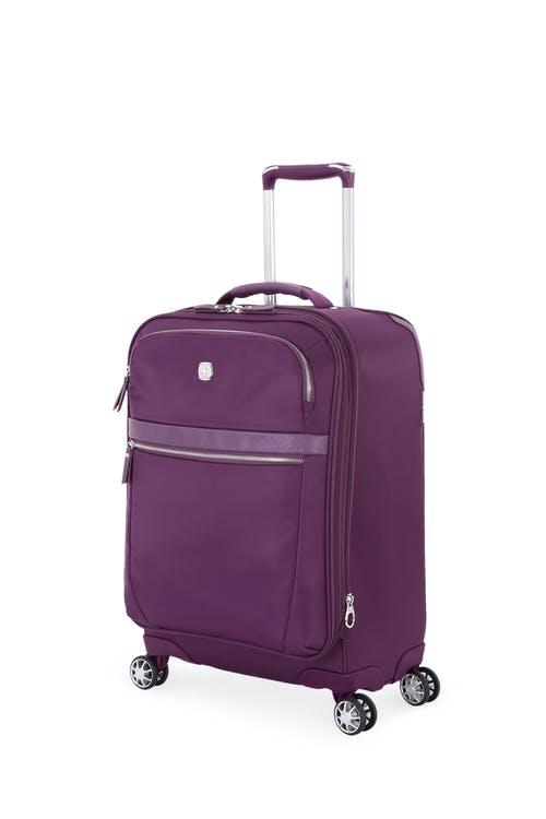 "Swissgear 7636 Geneva 20"" Expandable Liteweight Luggage"