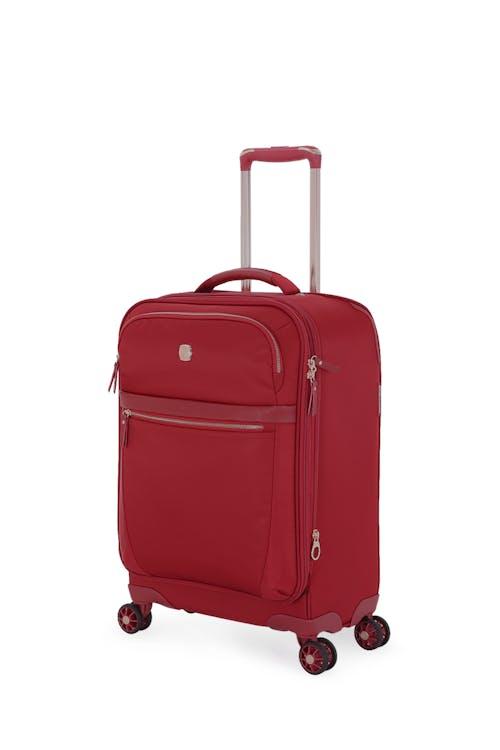 "Swissgear 7636 Geneva 20"" Expandable Liteweight Luggage - Bossa Nova-Burnt"