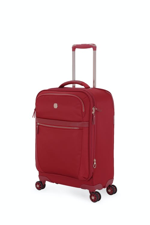 "Swissgear 7636 Geneva 20"" Expandable Liteweight Luggage  - Bossa Nova-BURNT"
