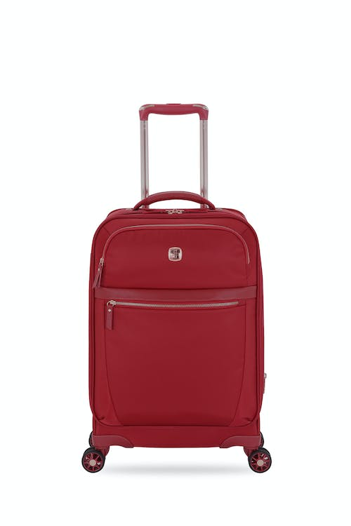 "Swissgear 7636 Geneva 20"" Expandable Liteweight Luggage Reinforced, liteweight carry handle"